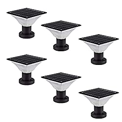 Image of Solar Post Cap Lights...: Bestviewsreviews