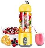 LJNYF Ménagers Blender, Juicer Smoothie Portable, 600ml De Jus De Fruits Et...
