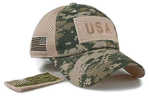 Baseball Cap Snapback Basecap Kappe Unisex in Army Camouflage Muster One Size