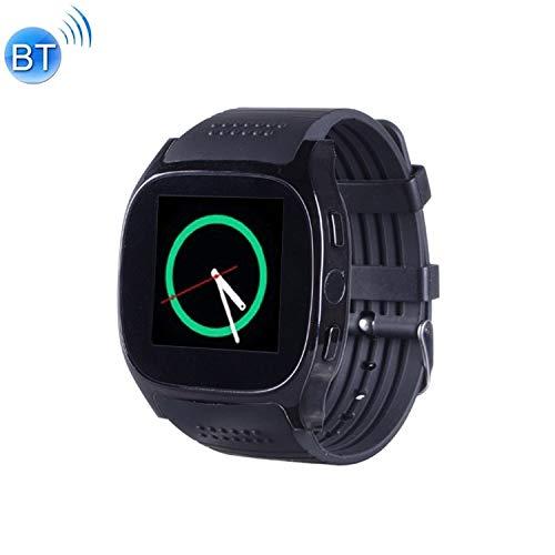 Tonwin merk T8M 1,54 inch IPS-scherm bluetooth smartwatch, ondersteuning van hartslagmeter, bloeddruk, slaapmonitor, zwart