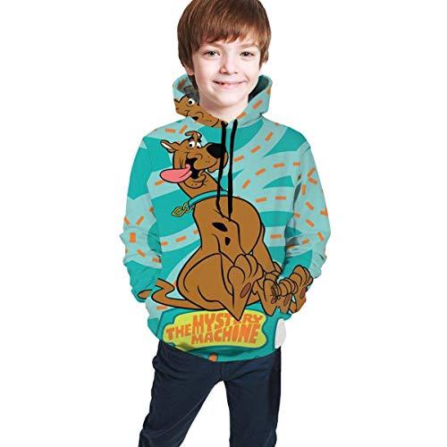 Sudaderas con Capucha de Manga Larga/Sudadera con Capucha Sudadera con Capucha de Scooby Doo Niños Niñas Niños Impreso en 3D Unisex s.