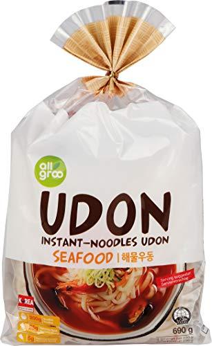 Allgroo Fideos Udon, Mariscos 690 g