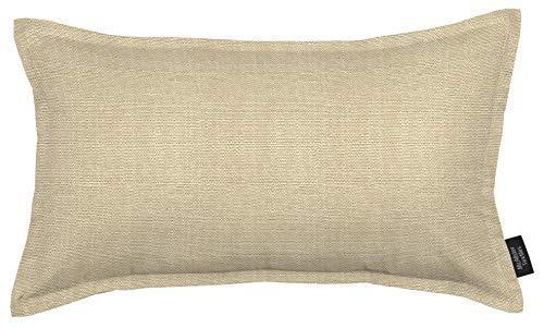 McAlister Textiles Savannah Coussin de Canapé Décoratif en Toile Tissé Épaisse - Taupe - 50 x 30cm