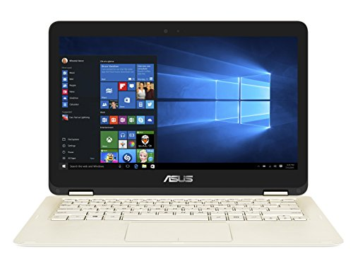 Asus Zenbook Flip ux360uak bb354t 33,8 cm (13,3 pollici) Notebook (Intel Core i5 – 7200u, 8 GB RAM, 256 GB hard disk ssd, Intel HD Graphics, Win 10) Oro