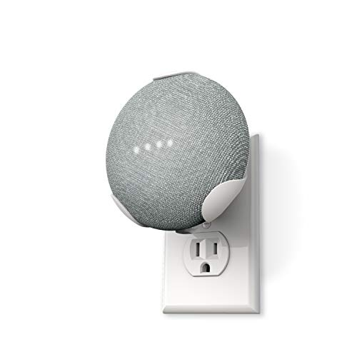 360 Electrical 360580 PowerClip Outlet Mount for Google Home Mini - Google...