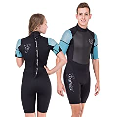 PREMIUM QUALITY — Nylon II neoprene material forms to your body like a second skin. ULTRA FLEXIBLE — Super-stretch armpit panels make for easy mobility. PREVENTS CHAFING — Flat-lock stitching prevents skin irritation. LASTING DURABILITY — Anti-abrasi...