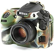 easyCover Silicone Protection Cover for Nikon D810 Camouflage