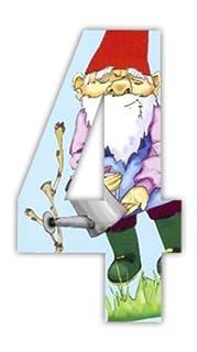 Gnome Wheelie Bin Stickers Gnome 4