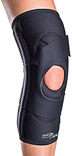 DonJoy Lateral J Patella Knee Support Brace Without Hinge: Drytex, Right Leg, Small