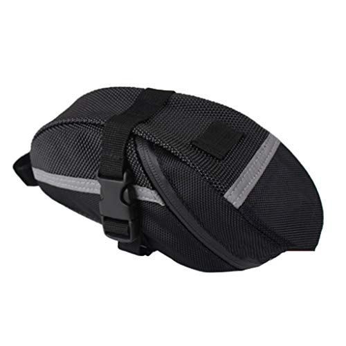 Yushu Bike Saddle Bag Bicycle Under Seat Packs Cycling Pouch Wedge for Road MTB Bike Large Capacity Saddle Bag Cycling Trunk Bicycle Bag