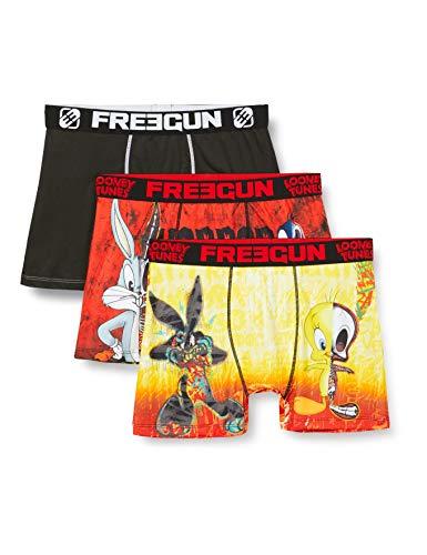 Freegun Herren LOONEY TUNES BUGS BUNNY ET DAFY FG/LOO/AM/1/PK3 Unterwäsche, P1, L (3er Pack)