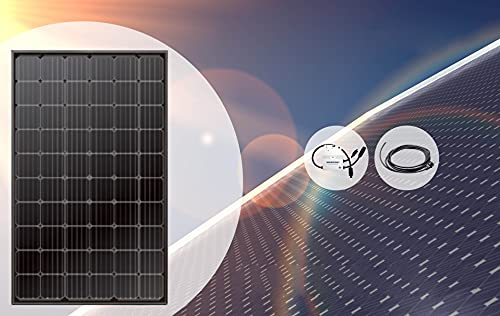 Mini-Solaranlage 300Wp (Mini-Solaranlage 300Wp + Kabel 5m)