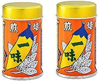 八幡屋礒五郎  国産 焙煎一味唐辛子2缶セット