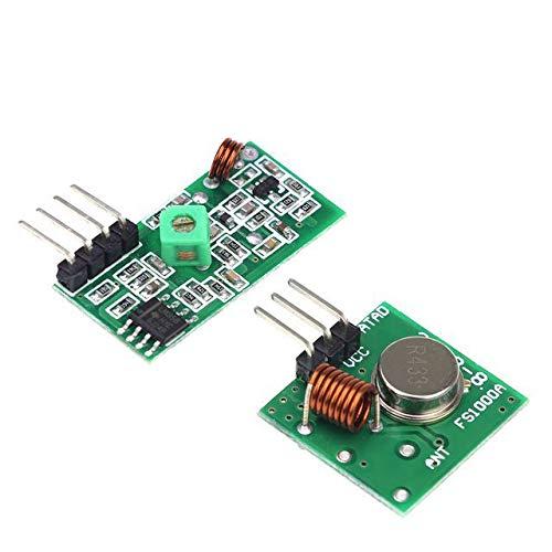 Mechatronics-Pro 433 MHz Sender Empfänger RF Funk Modul Transmitter für Arduino Raspberry Pi