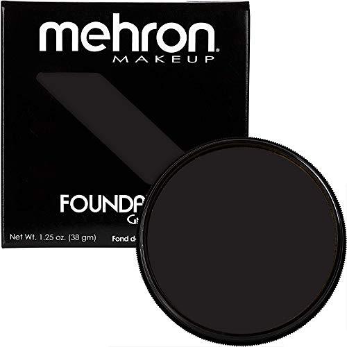 Mehron Foundation Grease - Black (1.25 oz) by Mehron