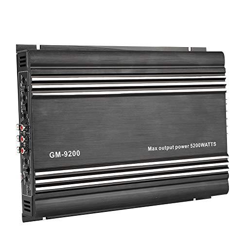 Qiilu Amplificador de potencia de audio, amplificador de potencia de...