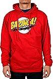 The Big Bang Theory No Face Bazinga! Sudadera con capucha para hombre