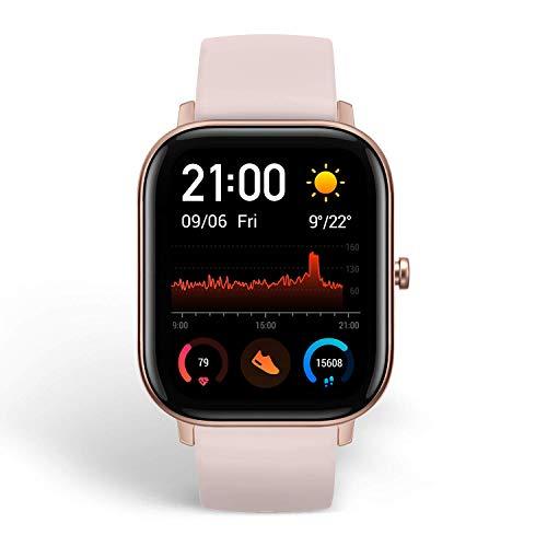 Amazfit GTS Reloj Smartwactch Deportivo | 14 días Batería | GPS+Glonass | Sensor Seguimiento Biológico BioTracker™ PPG | Frecuencia Cardíaca | Natación | Bluetooth 5.0 (iOS & Android) Pink - Rosa miniatura