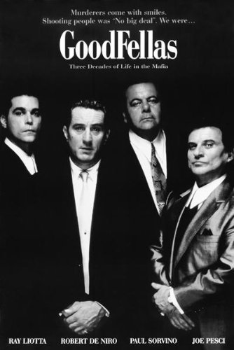 24x36 Poster Print Goodfellas Movie Sheet by Innerwallz