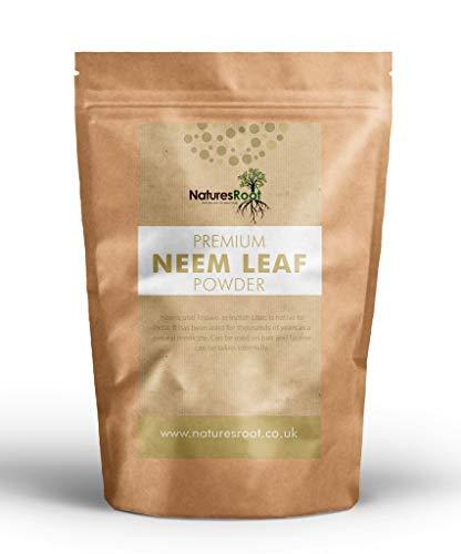 Natures Root Neem Pulver (Azadirachta Indica) 500g - Ayurvedisches Kraut für Haut & Haar | Natürlich | Stärkt Haare & Problemhaut