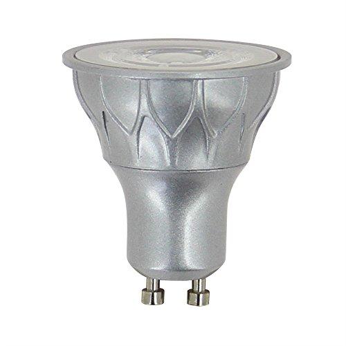 Xanlite MG75S Spot 520 Lumens Equivalence 75W Culot Gu10 / 60° / 2700K, Plastique + Aluminium, 7.5 W, 2700 K, 6 W