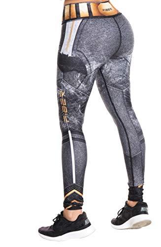 Fiber Superhero Crossfit Leggings Women Colombian Yoga Pants Compression Tights One Size (Bat)
