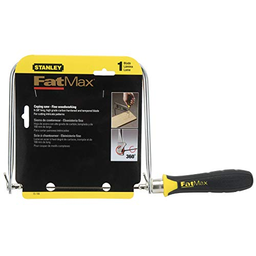 Stanley Hand Tool 15-106 FatMax Coping Saw