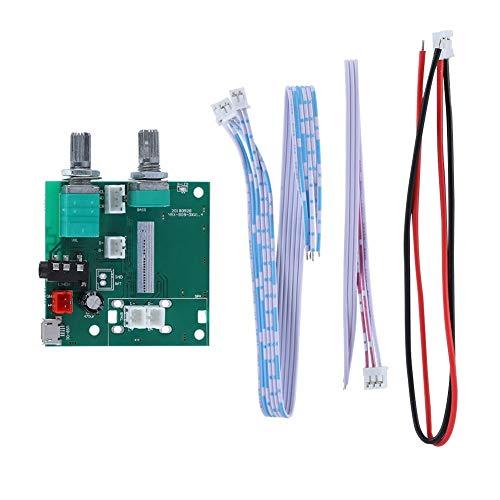 Hazmejor Stereoversterker plateau - 20 W Bluetooth 5.0 5 V 2.1-kanaals stereo versterker digitale AMP-printmodule