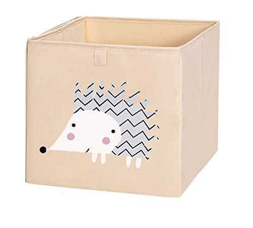 N / A 2020 Nuevo Cubo Plegable Caja de Almacenamiento para niños Juguetes Organizador Ropa Ropa Interior Calcetines contenedores de Almacenamiento 33x33x33cm