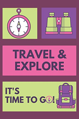 Traveller Notebook: Daily Travel Tracker for travellers and backpackers