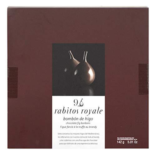 9 Rabitos Royale Original Bombones de Higos, Estuche Rojo - 142 g