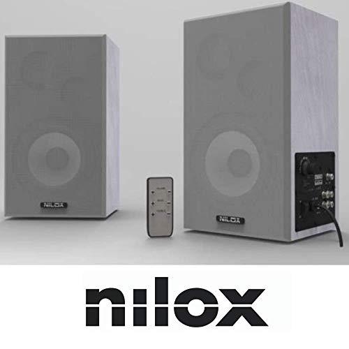 Nilox 4030047556 - Altavoces preamplificados (100W