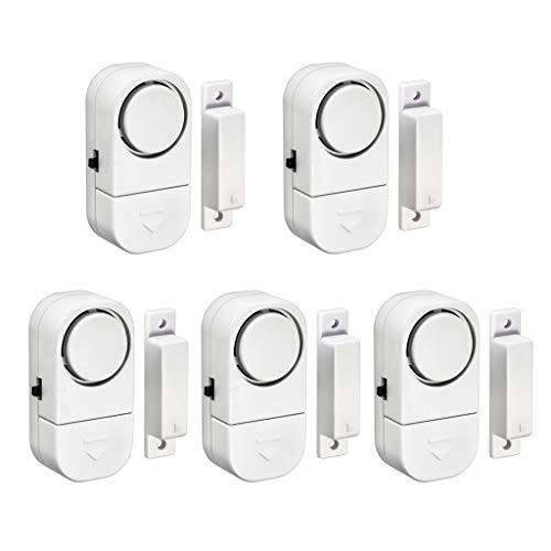 karrychen Wireless Window Door Burglar Security Warning Alarm System Magnetic Sensor-5#