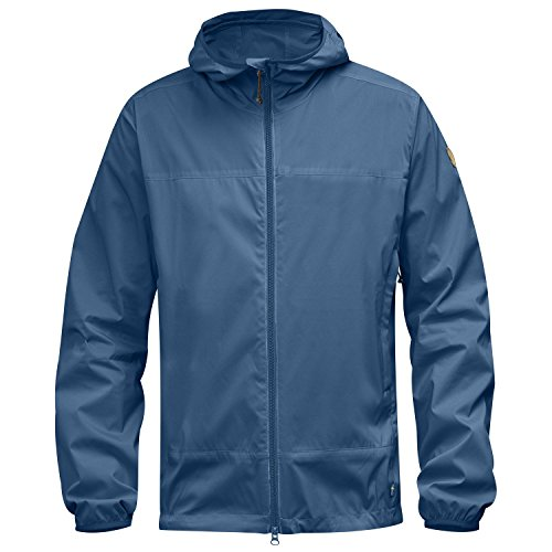 FJÄLLRÄVEN Herren Abisko Windbreaker Jacket Windjacke, Uncle Blue, L