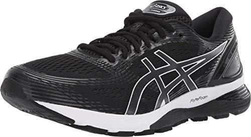ASICS Men's Gel-Nimbus 21 (4E) Running Shoes, 11.5XW, Black/Dark Grey