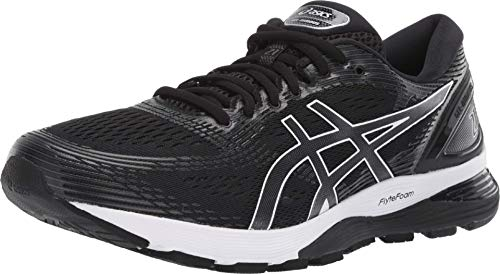 ASICS Men's Gel-Nimbus 21 (4E) Running Shoes, 12XW, Black/Dark Grey