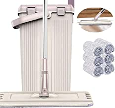 Perfect WENJIAN And Bucket System with 6 head Pads Easy Self Wringing Dust s for Floor Cleaning