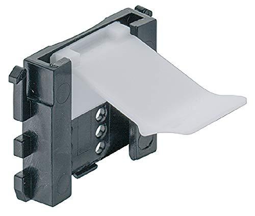10 x Sockelhalter 19 mm HÄFELE Befestigung Halterung Sockelklammer Blendenhalter Sockelclip Befestigungsclip Küche