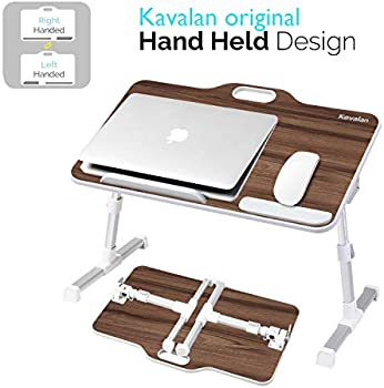 Kavalan Portable Adjustable Laptop Stand With Top Handle Height