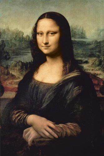 Pyramid America Leonardo Davinci-Mona Lisa, Art Poster Print, 24 by 36-Inch