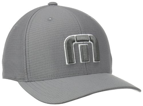 TravisMathew Men's B-Bahamas Cap, Grey, Large/X-Large