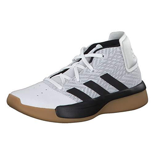Adidas Pro Adversary 2019 K, Zapatillas de Deporte Unisex Adulto, Multicolor Ftwbla Negbás Gricua 000, 38 EU
