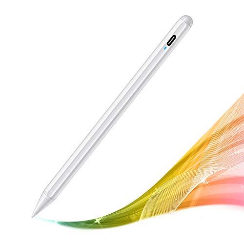 MPIO Stylus Pen für iPad 2018-2020 mit Palm Rejection & Tilt, Magnetische Stift Pencil mit Glatter Stiftspitze, Kompatibel mit iPad Pro 11 (1/2), iPad Pro 12.9 (3/4), iPad 6/7/8, Air 3/4, Mini 5