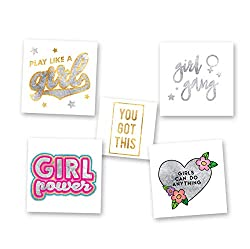 Girl Power Temporary Tattoos