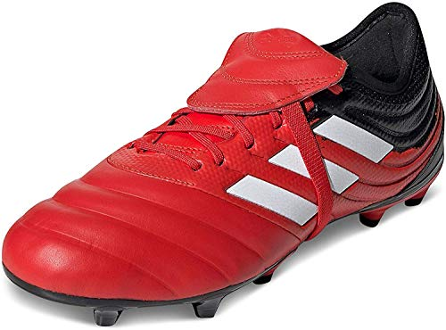 adidas Herren Copa Gloro 20.2 Fg Leichtathletik-Schuh, Aktiv Rot FTWR Weiss Kern Schwarz, 39 1/3 EU