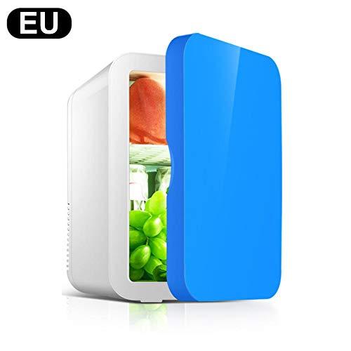 Draagbare compacte mini-koelkast met koel- en verwarmingstoestel, auto-koelkast met halfgeleider, stil voor huis, kantoor, slaap, grote inhoud van 8 l