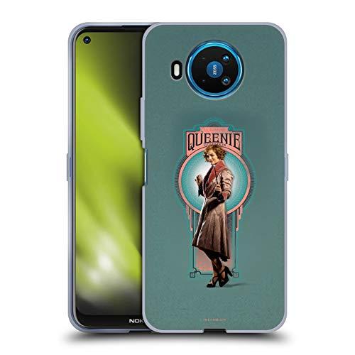 Head Case Designs Ufficiale Fantastic Beasts And Where To Find Them Queenie Goldstein Arte Personaggi Cover in Morbido Gel Compatibile con Nokia 8.3 5G