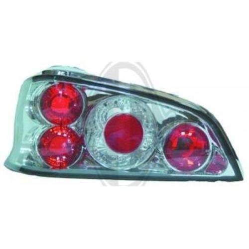 in.pro. 4210195 HD achterlichten Peugeot 106 vanaf 96, helder chroom
