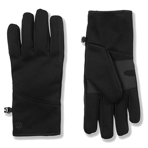 C9 Champion Men's Softshell Glove, Windproof And Water Resistant, Black, L/X-Large