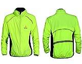 ZMMHW Maillot de Ciclismo para Hombre Camisa Transpirable Ropa de montaña Bicicleta de montaña MTB Road Jersey,Green Long Sleeve,XL